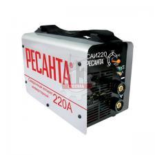 Сварочный аппарат инверторный САИ 220 (220 А, 5,0мм, ПВ70%) РЕСАНТА