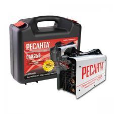 Сварочный аппарат инверторный САИ 250 (250 А,6,0мм, ПВ70%) в кейсе РЕСАНТА