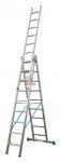 Лестница 3-х секционная  9 ступеней с доп. функ.STABILO